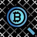 Bitcoin Search Bitcoin Search Icon