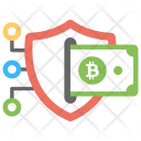 Secure Transaction Blockchain Icon
