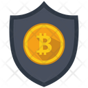 Bitcoin Encrypted Money Icon