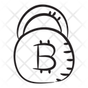 Bitcoin Security Btc Protection Bitcoin Lock Icon