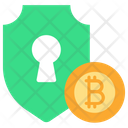 Bitcoin Security Icon