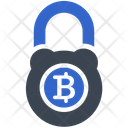 Security Protection Bitcoin Icon