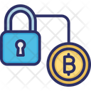 Bitcoin Security Bitcoin Transaction Network Blockchain Security Icon