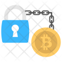 Security Transaction Blockchain Icon