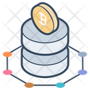Bitcoin Cryptocurrency Blockchain Icon