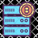 Bitcoin Server Icon