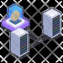 Bitcoin Servers Icon