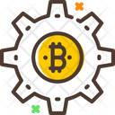 Bitcoin Setting Icon