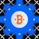 Settings Bitcoin Setting Setting Icon
