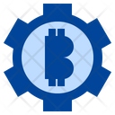 Bitcoin Setting Bitcoin Management Bitcoin Icon