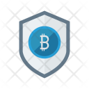 Protection Bitcoin Secure Icon