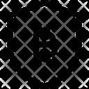 Shield Bitcoin Icon