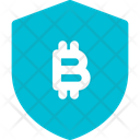 Shield Bitcoin Icon