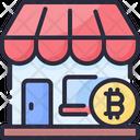 Bitcoin Shop Icon
