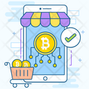 Bitcoin Shop Icon