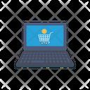 Cart Shopping Bitcoin Icon