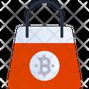 Shopping Bitcoin Shopping Bag Shopping Bag Icon