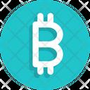 Bitcoin Sign Icon