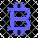 Bitcoin Sign Bitcoin Bitcoin Bold Icon