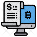 Cryptocurrency Bitcoin Money Icon