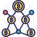Bitcoin Statistics Bitcoin Analysis Bitcoin Graph Icon