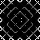 Bitcoin Sticker Icon