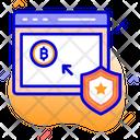 Bitcoin Stock Market Bitcoin Stocks Blockchain Stocks Icon