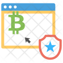 Stocks Blockchain Investing Icon