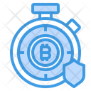 Bitcoin Stopwatch Icon