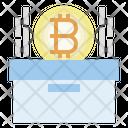 Bitcoin Storage Box Bitcoin Icon