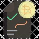 Bitcoin Strategy Bitcoin Scheme Bitcoin Policy Icon