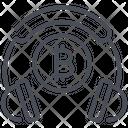 Bitcoin Customer Service Help Icon
