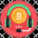 Bitcoin Helpline Bitcoin Support Bitcoin Services Icon