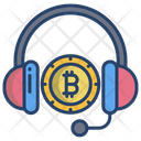 Bitcoin Support Support Call Support Icon