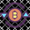Bitcoin Sync Icon