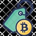 Bitcoin Tag Icon