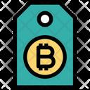 Bitcoin Tag Bitcoin Purchase Icon