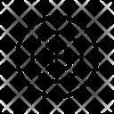 Target Bitcoin Focus Icon
