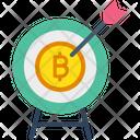 Bitcoin Target Icon