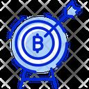 Bitcoin Target Bitcoin Target Bits Bitcoin Target Price Icon