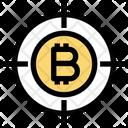 Bitcoin Target Bitcoin Target Icon