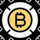 Bitcoin Target Target Bitcoin Icon