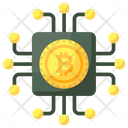 Digital Currency Bitcoin Technology Cryptocurrency Technology Icon