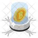 Bitcoin Technology Digital Money Btc Technology Icon