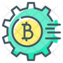 Bitcoin Crypto Cryptocurrency Icon