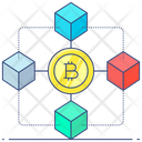 Bitcoin Bitcoin Technology Blockchain Icon