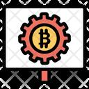 Bitcoin Technology Icon
