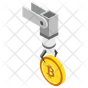 Cryptocurrency Technology Bitcoin Technology Digital Currency Icon