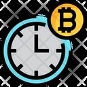 Bitcoin Time Icon