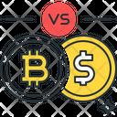 Bitcoin To Dollar Bitcoin Dollor Icon